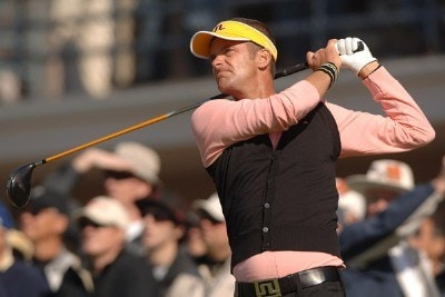 Jesper Parnevik in action during the second round of the PGA TOUR's 2006 Buick Invitationa at Torrey Pines South in La Jolla, California January 27, 2006Photo by Steve Grayson/WireImage.com
