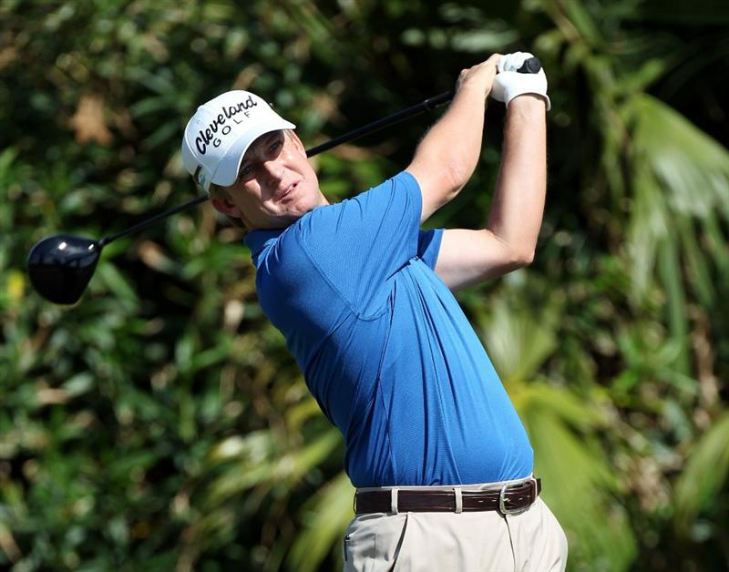 SOUTHAMPTON, BERMUDA - OCTOBER 19:  David Toms of the USA during the first round of the 2010 PGA Grand Slam of Golf at The Port Royal Golf Course on October 19, 2010 in Southampton, Bermuda.  (Photo by Ross Kinnaird/Getty Images)
