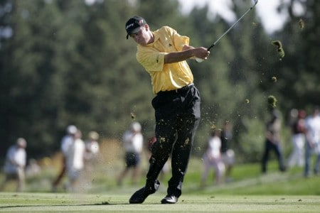 Todd Fischer in action during the final round at the Reno-Tahoe Open,  August 21,2005, held at Montreux GC, Reno, Nevada.Photo by Stan Badz/PGA TOUR/WireImage.com