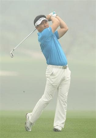CHENGDU, CHINA - APRIL 21:  Y E Yang of China in action during first round of the Volvo China Open at Luxehills Country Club on April 21, 2011 in Chengdu, China.  (Photo by Ian Walton/Getty Images)