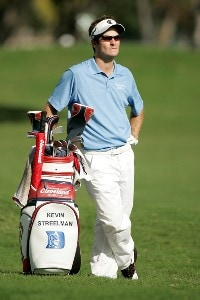 Kevin Streelman waits for play during the second round of the Sony Open in Hawaii held at Waialae Country Club on January 11, 2008 in Honolulu, Hawaii. PGA TOUR - 2008 Sony Open in Hawaii - Second RoundPhoto by Stan Badz/PGA TOUR/WireImage.com