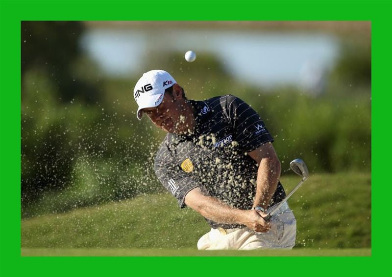 CASARES, SPAIN - MAY 21:  Lee Westwood of England in action during his last 16 match of the Volvo World Match Play Championships at Finca Cortesin on May 20, 2011 in Casares, Spain.  (Photo by Warren Little/Getty Images)  ***BESTPIX***