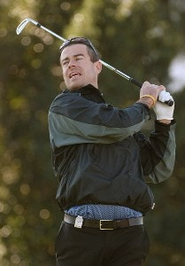 Carson Daly on the par three third hole during the second round of the Bob Hope Chrysler Classic at La Quinta Country Club on Thursday, January 19, 2006 in La Quinta, CaliforniaPhoto by Marc Feldman/WireImage.com