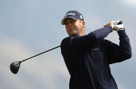 Dudley Hart in action during the first round of the PGA's Tour 2005 Chrysler Classic of Tucson at the Omni Tucson National Golf Resort & Spa February 24, 2005 in Tuscon, Arizona