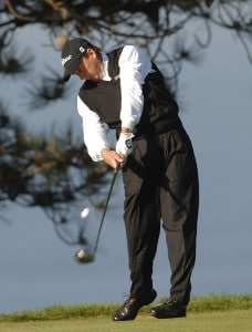 Todd Fischer in action during the second round of the PGA TOUR's 2006 Buick Invitationa at Torrey Pines South in La Jolla, California January 27, 2006Photo by Steve Grayson/WireImage.com