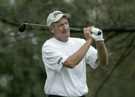 R.W. Eaks in action during the first round of the Greater Hickory Classic at Rock Barn on the Jones Course  in Conover, North Carolina on October 7, 2005.Photo by Michael Cohen/WireImage.com