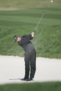 Mark Hensby during the third round of THE PLAYERS Championship held at the TPC Stadium Course in Ponte Vedra Beach, Florida on March 25, 2006.Photo by Michael Cohen/WireImage.com