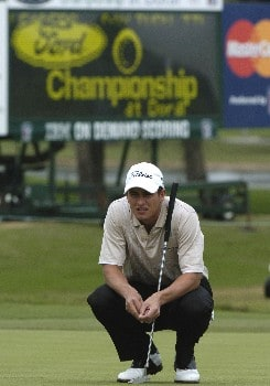 Adam Scott competes in first-round competition March 3, 2005  at the Ford Championship at Doral in Miami.