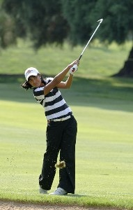 Julieta Granada during the first round of the Safeway Classic at Columbia-Edgewater Country Club in Portland, Oregon on August 18, 2006.Photo by Al Messerschmidt/WireImage.com