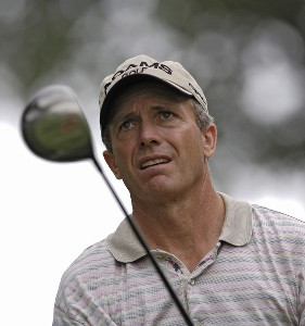 Jerry Pate during the first round of the FedEx Kinko's Classic held at The Hills Country Club in Austin, TX, on April 28, 2006. Photo by: Steve Levin/WireImage.com