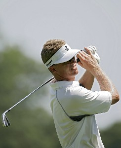 John Senden  during the third round of the John Deere Classic at TPC at Deere Run in Silvis, Illinois on July 15, 2006.