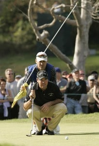 Rich Beem during the fourth and final round of  the Nissan Open held at Riviera Country Club in Pacific Palisades, California, on February 18, 2007. Photo by: Chris Condon/PGA TOURPhoto by: Chris Condon/PGA TOUR