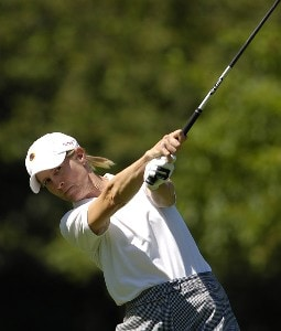 Maggie Will during the first round of the Jamie Farr Owens Corning Classic at Highland Meadows Golf Club in Sylvania, Ohio, on July 13, 2006.Photo by Steve Levin/WireImage.com