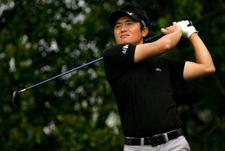 PALM HARBOR, FL - MARCH 6:  Ryuji Imada of Japan plays the third hole during the first round of the PODS Championship at Innisbrook Resort and Golf Club March 6, 2008 in Palm Harbor, Florida.  (Photo by Sam Greenwood/Getty Images)