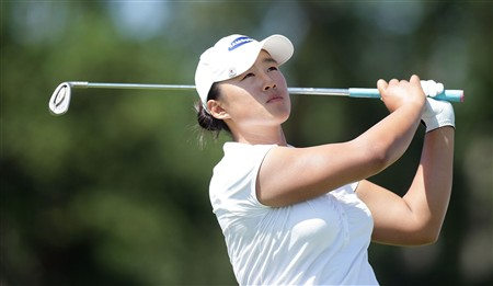 MUNICH, GERMANY - JUNE 01:  Amy Wang of South Korea is seen during the final round of the Hypo Vereinsbank Ladies German Open Golf at Golfpark Gut Hausern on June 01, 2008 near Munich, Germany.  (Photo by Thomas Niedermueller/Getty Images)