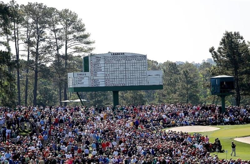 AUGUSTA, GA - APRIL 09:  K.J. Choi of South Korea hits his tee shot on the third hole during the second round of the 2010 Masters Tournament at Augusta National Golf Club on April 9, 2010 in Augusta, Georgia.  (Photo by Jamie Squire/Getty Images)