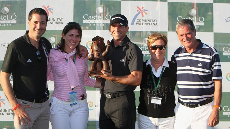 Sergio Garcia and family
