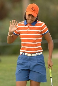 Julieta Granada in action during the second round of the inaugural 2006 Fields Open in Hawaii at Ko Olina Golf Club in Kapolei, Hawaii February 24, 2006.Photo by Steve Grayson/WireImage.com