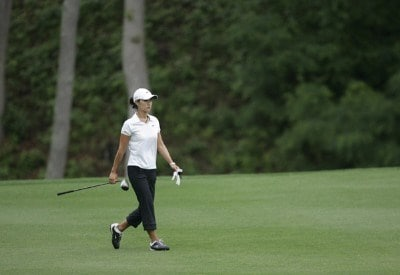 Grace Park in action during the first round of The Michelob Ultra Open at Kingsmill Resort & Spa, Williamsburg, Va., Thursday May 11th, 2006.Photo by Hunter Martin/WireImage.com