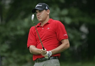Bill Haas during the first round of the Buick Championship held at TPC River Highlands in Cromwell, Connecticut, on June 29, 2006.Photo by Christopher Condon/WireImage.com