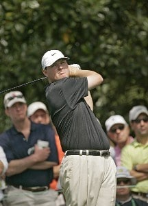 Chad Campbell during the second round of the 2006 Masters at the Augusta National Golf Club in Augusta, Georgia on April 7, 2006.Photo by Sam Greenwood/WireImage.com