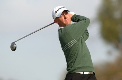 Nathan Green hits from the second tee during the final round of the PGA TOUR's 2006 Buick Invitationa at Torrey Pines South in La Jolla, California January 29, 2006.Photo by Steve Grayson/WireImage.com