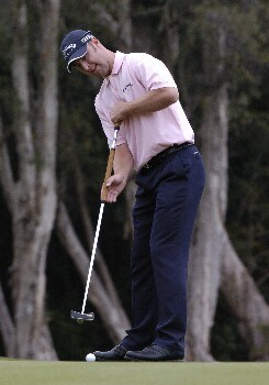 Brendan Jones competes in first-round competition March 3, 2005  at the Ford Championship at Doral in Miami.