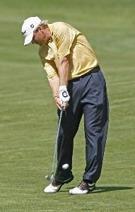 Matt Weibring in action during the first round of the 2006 Xerox Classic at the Irondequoit Country Club in Rochester, New York, Thursday, August 10, 2006Photo by Jim Rogash/WireImage.com