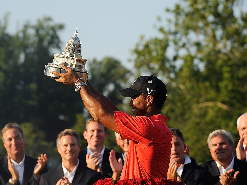 Tiger Woods wins AT&T