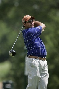Rich Beem during the third round of the Cialis Western Open on the No. 4 Dubsdread course at Cog Hill Golf and Country Club in Lemont, Illinois on July 8, 2006.Photo by Michael Cohen/WireImage.com