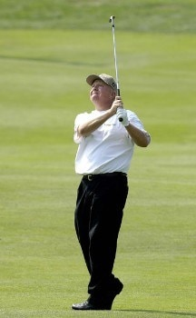 Billy Mayfair during the first round of the 2005 84 Lumber Classic on Thursday, September 15, 2005 held at the Mystic Rock Golf Course/Nemacolin Woodlands Resort in Farmington, Pennsylvania.Photo by Marc Feldman/WireImage.com