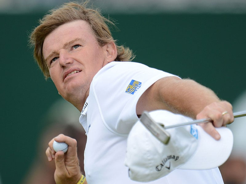 Ernie Els at the 2012 British Open