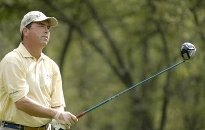 Olin Browne during the second round of the Shell Houston Open at the Redstone Golf Club,Tournament Course, Humble, Texas, on Friday, April 21, 2006Photo by Marc Feldman/WireImage.com