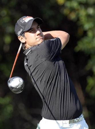 PALM HARBOR, FL - MARCH 17:  Matteo Manassero of Italy hits a shot on the 11th hole during the first round of the Transitions Championship at Innisbrook Resort and Golf Club on March 17, 2011 in Palm Harbor, Florida.  (Photo by Sam Greenwood/Getty Images)