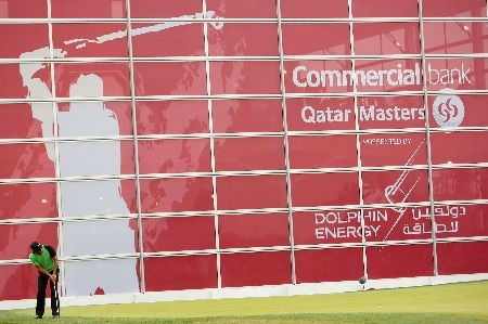 DOHA, QATAR - JANUARY 26:  Johan Edfors of Sweden putts on the ninth green during the third round of the Commercialbank Qatar Masters at Doha Golf Club on January 26, 2008 in Doha, Qatar.  (Photo by Andrew Redington/Getty Images)