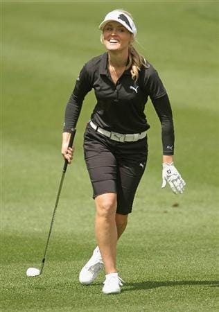 CITY OF INDUSTRY, CA - MARCH 25:  Blair O'Neal walks to the 18th green during the second round of the Kia Classic on March 25, 2011 at the Industry Hills Golf Club in the City of Industry, California.  (Photo by Scott Halleran/Getty Images)