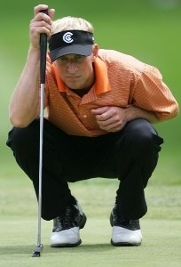 Vaughn Taylor during the third round of the Buick Open at Warwick Hills Golf and Country Club in Grand Blanc, Michigan on August 5, 2006.