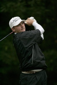Jason Bohn during the third round of the Chrysler Classic of Greensboro at Forest Oaks Country Club in Greensboro, North Carolina on October 7, 2006. PGA TOUR - 2006 Chrysler Classic of Greensboro - Third RoundPhoto by Michael Cohen/WireImage.com