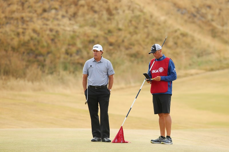 Phil Mickelson and Jim Mackay