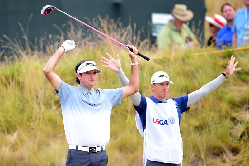 Bubba Watson and Ted Scott