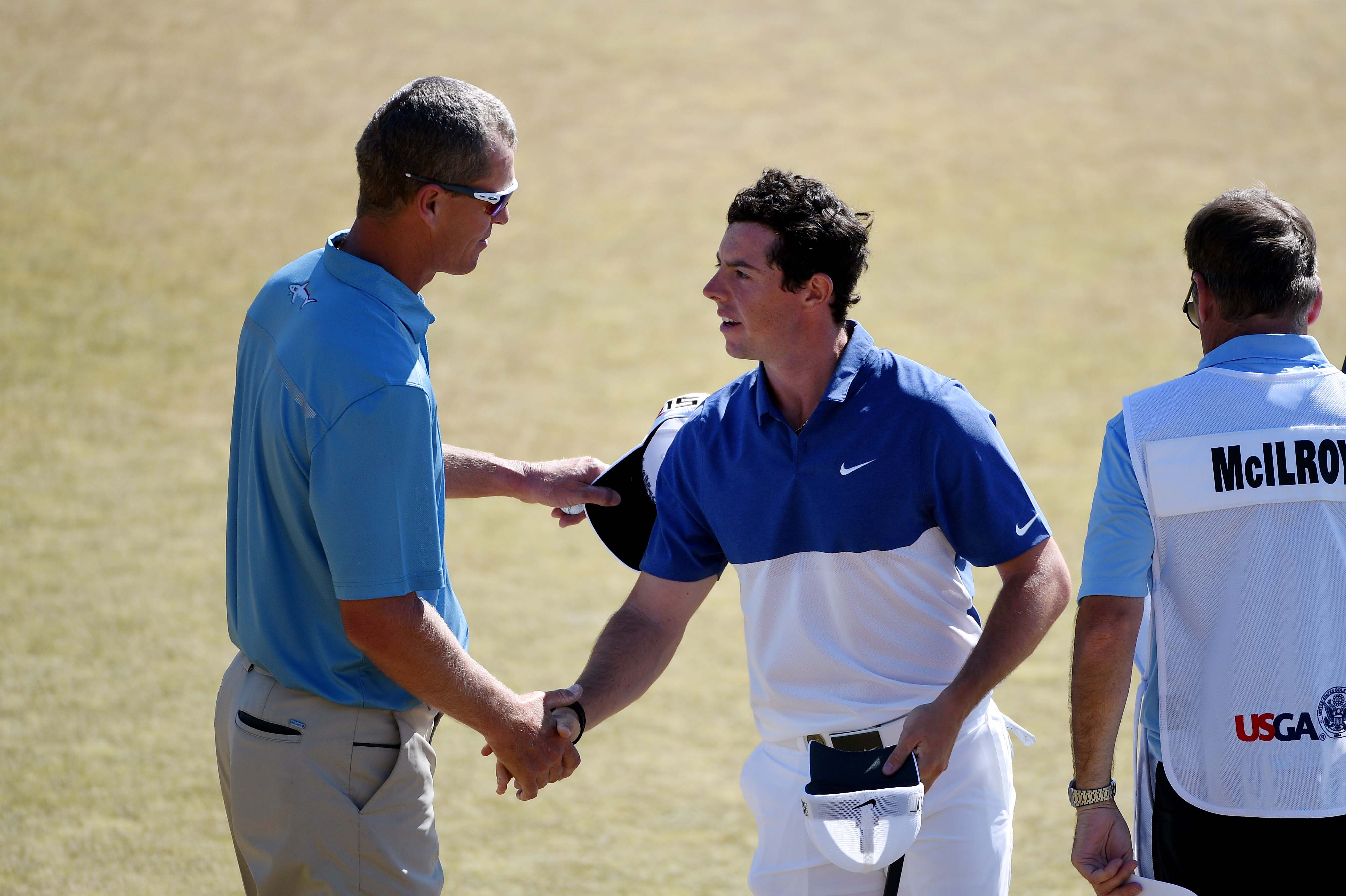 John Senden and Rory McIlroy