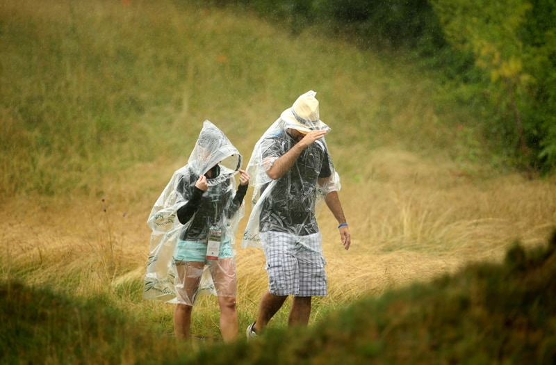 Fans at The Greenbrier Classic