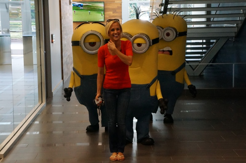 Bring Your Minions to Work Day