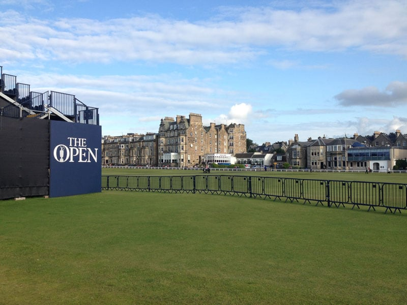 Welcome to the Open Championship