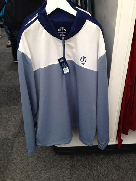 Men's signature grey fleece: £60.00