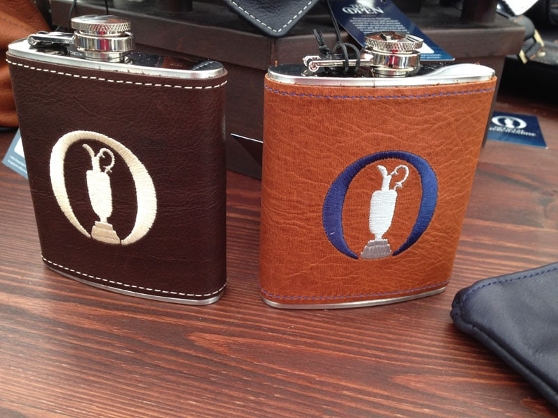 Open Championship flasks: £35.00 each