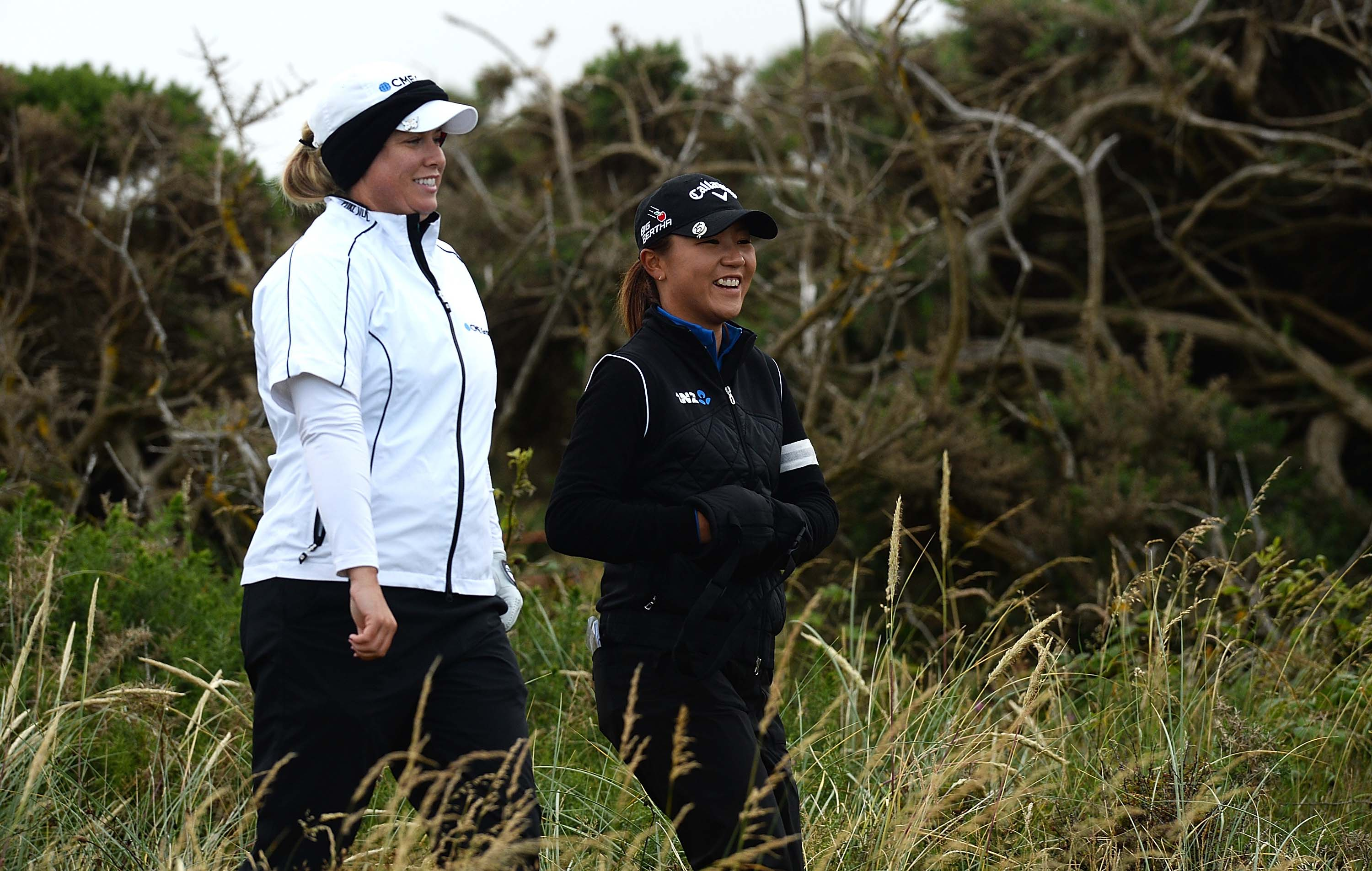 Lydia Ko and Brittany Lincicome