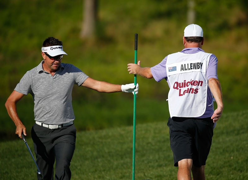 He wasn't confused for Robert Allenby