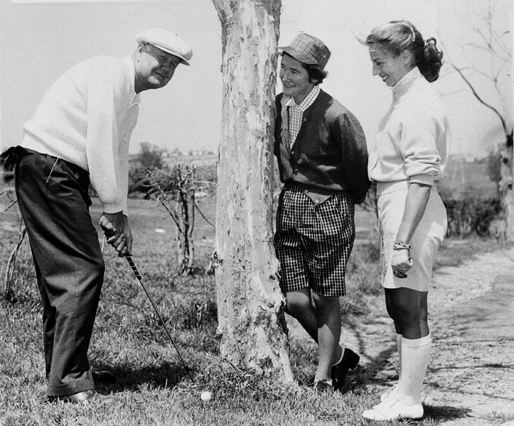 Byron Nelson, Louise Suggs, Marlene Bauer