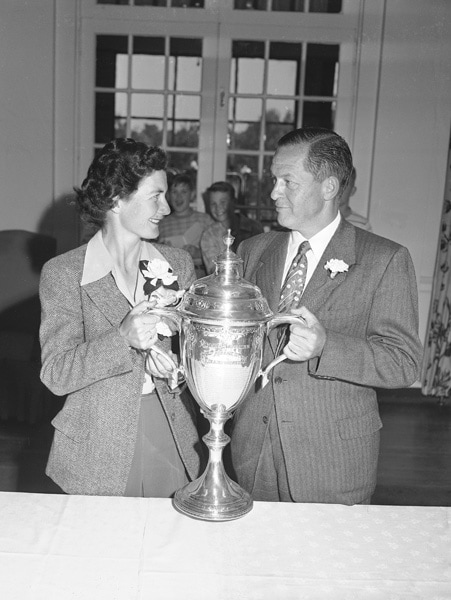 Louise Suggs and Bobby Jones